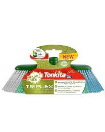 Triplex szczotka do wnętrz z 3 różnymi rodzajami włosia - Wykonana z certyfikowanych materiałów pochodzących z recyklingu i nadających się do ponownego przetworzenia