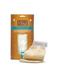 SWEET cotton massage mitt