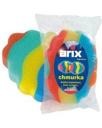 CHMURKA coloured bath sponge