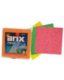 TRIO ściereczki gąbkowe 100% biodegradowalna