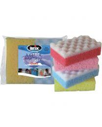 DUET bath sponge