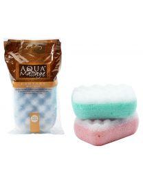 MOUSSE bath & massage sponge