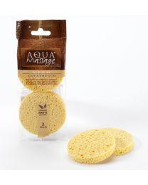 LEVATRUCCO cellulose facial cleansing sponges