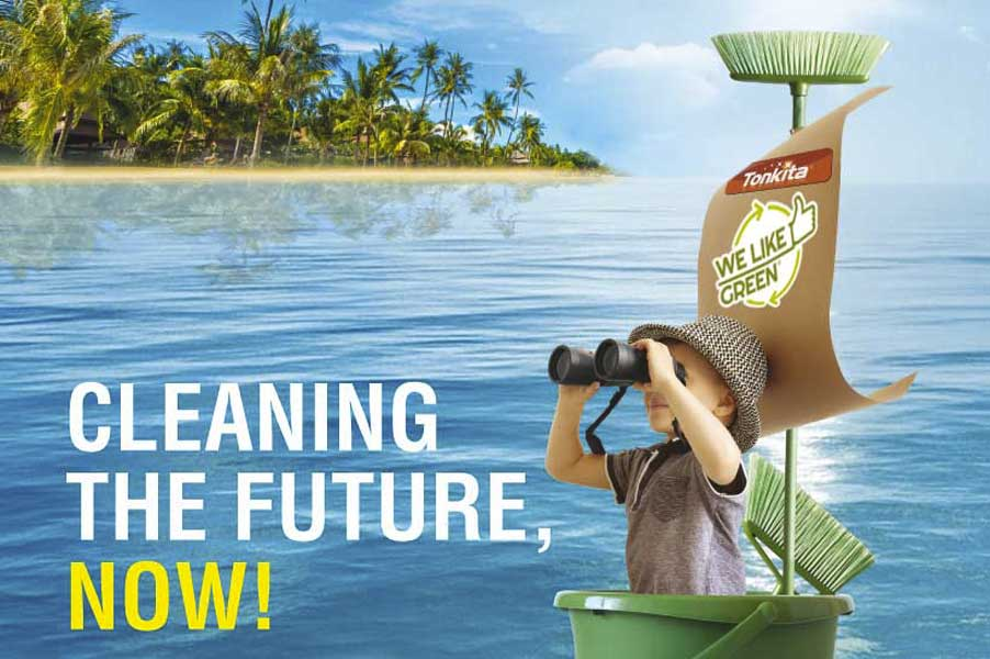 Tonkita We Like Green: cleaning the future, now!